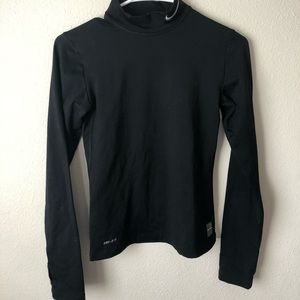 Nike black compression shirt